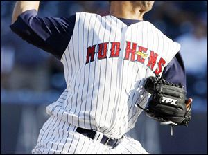 Ruddy Lugo tied for the International League lead in victories last year when he was 13-9 for the Mud Hens.