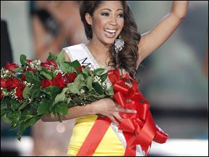 Miss Virginia, Caressa Cameron, is the 2010 Miss America contest winner.