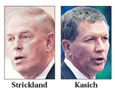 Strickland-rebounds-in-poll-but-Kasich-close-behind