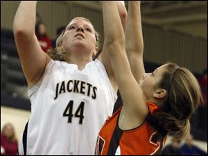 Perrysburg senior Erin Mesker averaged 10.7 points and 7.0 rebounds per game this season.