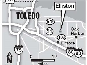 Elliston, Ohio, isn't on most maps, but that may be about to change thanks to its most famous resident, 24-year-old Crystal Bowersox.