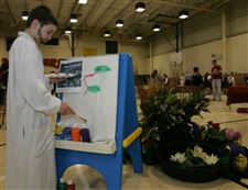Past-comes-alive-at-St-Joan-of-Arc-s-annual-wax-museum