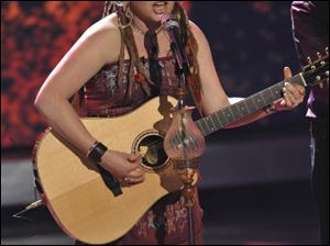 Crystal Bowersox survived, but judges said they didn't like her performance.
