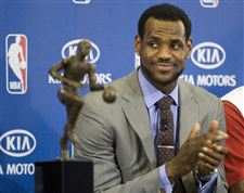 Cavs-James-claims-MVP-in-Akron