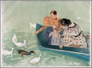 Feeding the Ducks, Mary Cassatt
