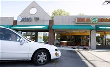 Car-crashes-into-checksmart-in-West-Toledo