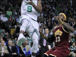 Boston's Rajon Rondo has outperformed the Celtics' Big Three against the Cavaliers.