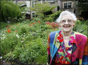 Over the years Betty Farison, who started gardening at age 6, has collected enough plants to have continuous blooms from April to October.