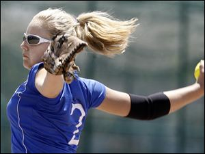 Springfield senior Ashlyn Michalak is 17-6 with a 1.15 ERA and averages 8.95 strikeouts per game. The Blue Devils (23-6) are making their first appearance in the state semifinals.