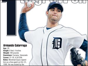 Armando Galarraga was sent to the minors after struggling in spring training. He makes his first start tonight since his gem.