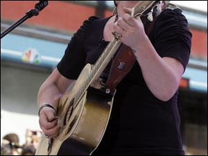 Crystal Bowersox perfoms earlier this month on NBC's 'Today' show.