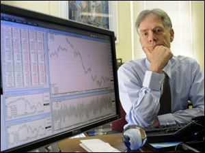 Robert Prechter, a market forecaster and social theorist, at his office in Gainesville, Ga.