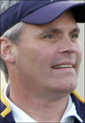 Toledo football coach Tim Beckman