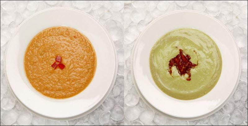 Soup, Summer Fruit Soup, Basic Vegetable Stock, and Cold Avocado Soup ...