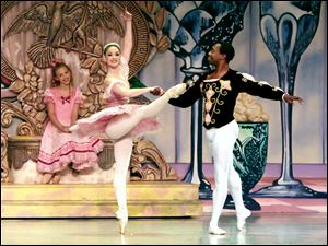 Dancers perform in the Toledo Ballet's 2009 'Nutcracker.' The ballet is holding auditions for this year's shows Saturday at its Westfield Franklin Park headquarters.