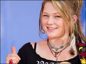 Crystal Bowersox expects her homecoming to be emotional as she steps onstage Sunday night before family, friends, and fans at the Huntington Center.