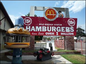 The original McDonald's restaurant is in San Bernardino, Calif.
