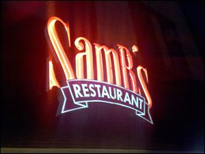 SamB's Restaurant is located at 163 South Main St. in Bowling Green.