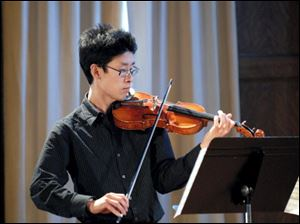 Merwin Siu will perform at this Sunday's Blade Chamber Concert.