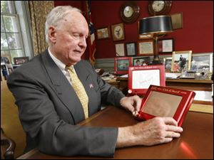 William C. Killgallon, chairman of the tiny Bryan toy maker, says the company didn't mean to violate patent laws.