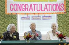 Centenarians-honored