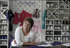 Lynn Boden says the Curves franchise support has helped her Point Place fitness center grow.