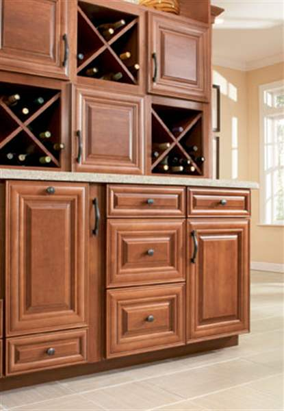 Hardware Molding Turn Drab Cabinets Into Decorative Elements
