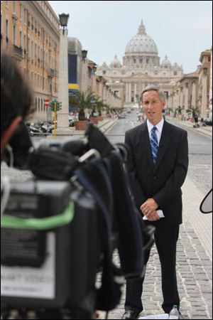 CNN correspondent Gary Tuchman tells The Blade he made the documentary on Pope Benedict XVI's role in handling of the clerical sex-abuse scandal because the issue is far from over.
