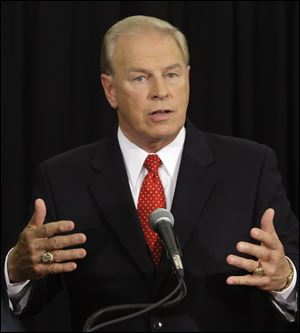 Ohio Governor Ted Strickland said the state Department of Development should move faster to keep factories from closing.