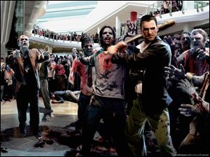 A scene from Dead Rising 2.