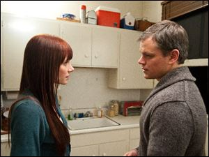 Bryce Dallas Howard and Matt Damon star in 'Hereafter.'