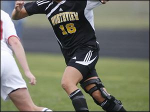 Courtney Hendrix, a junior forward, leads Northview with 16 goals this season. The Wildcats are 14-4.