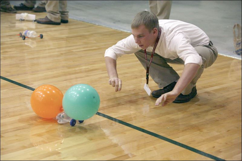 Physics Balloon Car Balloon-powered Race Car