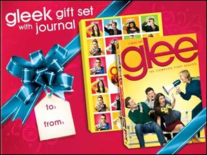 The Glee Season One gift set comes with a journal, though the DVDs are the same as the regular season one DVDs.