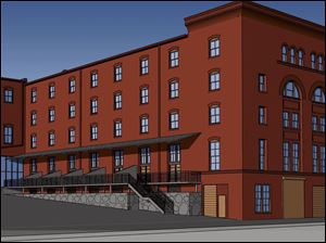 "In this artist's rendering, new patios are shown in the rear of the Berdan building. <br><img src=http://www.toledoblade.com/graphics/icons/photo.gif> <font color=red><b>PHOTO GALLERY:</b></font><a href=""/apps/pbcs.dll/gallery?Avis=TO&Dato=20101219&Kategori=NEWS16&Lopenr=121909999&Ref=PH""_blank""> <b> Berdan building renovation</b></a>"