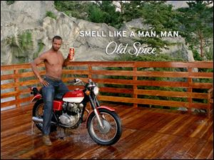 Former NFL football star Isaiah Mustafa's appearance in Old Spice's 'Smell Like a Man' campaign has become a media sensation, spawning spoofs and sending Old Spice sales upward.