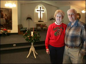 For 70 years, Virginia Gladieux, with husband, Dale, has attended East Christian Church. The historic Oregon church is disbanding after Christmas services Saturday, after more than 100 years of operation.