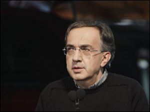 "Chrysler CEO Sergio Marchionne said refinancing the company's two loans would mean no longer having to explain the ""shyster rates."""
