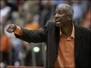 BGSU men's basketball coach Louis Orr.