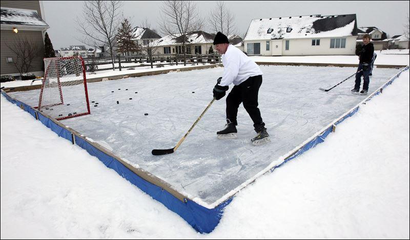 backyard rinks not big business toledo blade