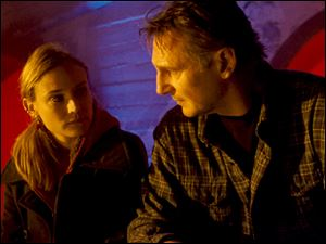Dian Kruger helps Liam Neeson's character after he discovers his identity has been stolen.