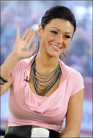 "Jersey Shore reality star Jenni Farley, also known as ""JWoww."""