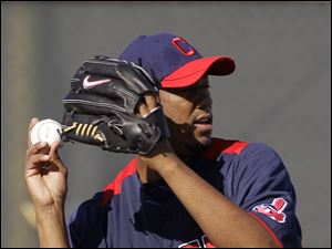 Fausto Carmona is expected to break training camp as the Indians' No. 1 starter. He put together a record of 13-14 last season.