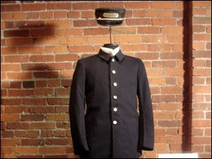 A Pullman porter uniform on display at the Heinz History Center.