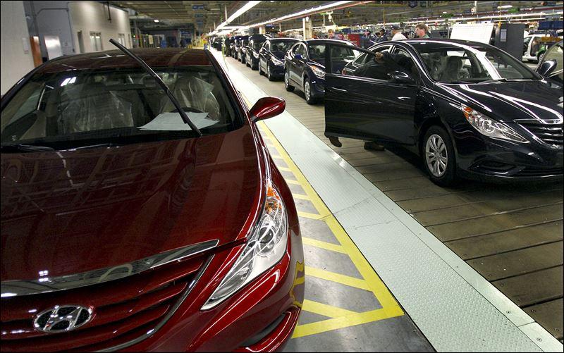 Hyundai kia bring prosperity to parts of south toledo blade for Kia motors montgomery al