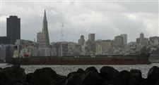 San-Francisco-skyline-tanker