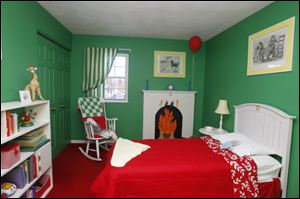 Annamarie Mack's bedroom was inspired by Clement Hurd's illustrations in the storybook