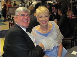 Sue and Bill Stevenson at Oscar Night: Vegas Style.