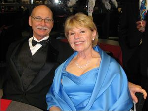Don and Sally Standish at Oscar Night: Vegas Style.