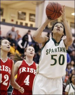 Start High School's Azia Bishop has been named Division-I girls player of the year.